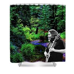 Jerry's Sunshine Daydream 2 Shower Curtain
