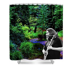 Shower Curtain featuring the photograph Jerry's Sunshine Daydream by Ben Upham