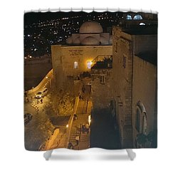 Jerusalem The Old City  Shower Curtain