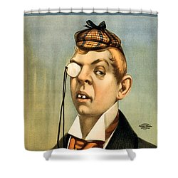 Jess Of The Bar Z Shower Curtain by Aged Pixel
