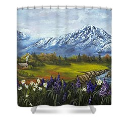 Jessy's View Shower Curtain