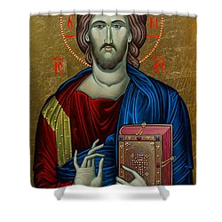 Jesus Christ Shower Curtain by Claud Religious Art