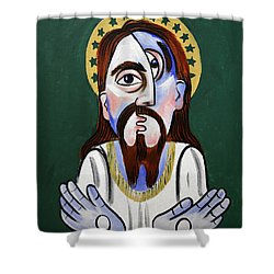 Jesus Christ Superstar Shower Curtain by Anthony Falbo
