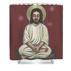 Jesus Listen And Pray 251 Shower Curtain
