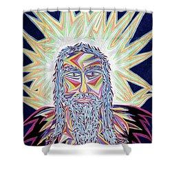 Jesus Year 2000 Shower Curtain by Robert SORENSEN