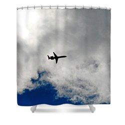 Jet Airplane Shower Curtain