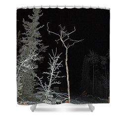 Jete Shower Curtain by Brian Boyle