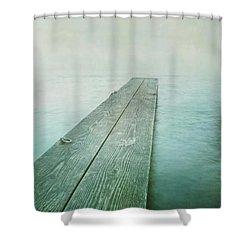 Jetty Shower Curtain by Priska Wettstein