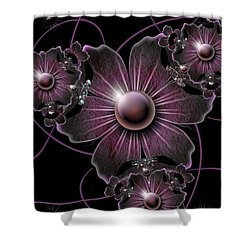 Jewel Of The Night Shower Curtain