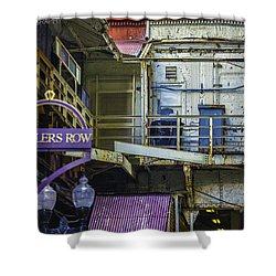 Jewelers Row Shower Curtain