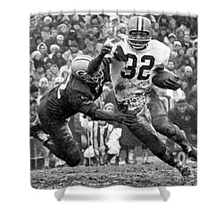 Jim Brown #32 Shower Curtain