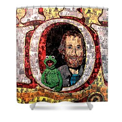 Jim Henson Shower Curtain