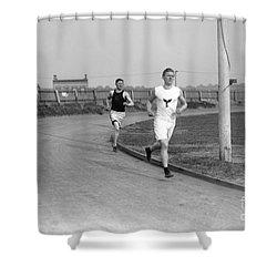 Jim Thorpe Shower Curtain by Granger