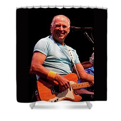 Jimmy Buffett 5626 Shower Curtain by Timothy Bischoff