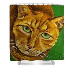 Jing Jing - Cat Shower Curtain