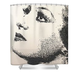 Joan Crawford Shower Curtain