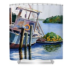 Joan II And Mates Shower Curtain