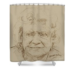 Joan Shower Curtain by  Maestro
