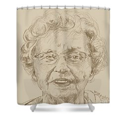 Joanne Shower Curtain by  Maestro