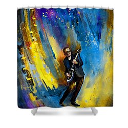 Joe Bonamassa 03 Shower Curtain by Miki De Goodaboom