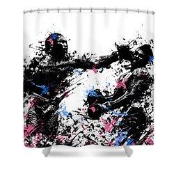 Joe Frazier Shower Curtain by Bekim Art
