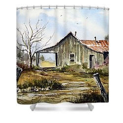 Joe's Place Shower Curtain