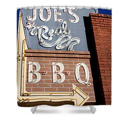 Joes Real Bbq Shower Curtain