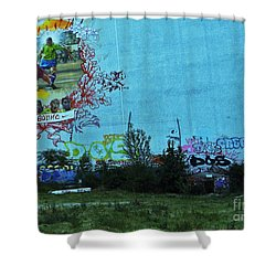 Joga Bonito - The Beautiful Game Shower Curtain