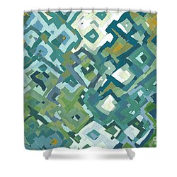 John 16 33. The Teaching Of Adversity Shower Curtain by Mark Lawrence