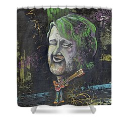 'john Bell' Shower Curtain