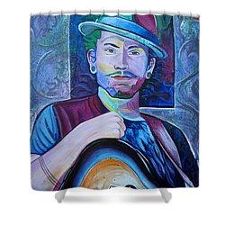 John Butler Shower Curtain by Joshua Morton