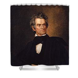 John C Calhoun  Shower Curtain by War Is Hell Store