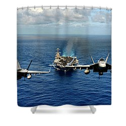 John C. Stennis Carrier Strike Group Shower Curtain