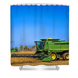 John Deere 9770 Shower Curtain