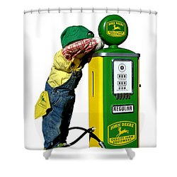 John Deere Kid Shower Curtain