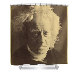 John Frederick William Herschel 1867 Shower Curtain by Getty Research Institute