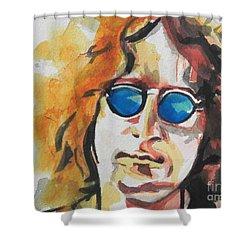 John Lennon 03 Shower Curtain