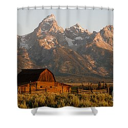 John Moulton Barn Shower Curtain
