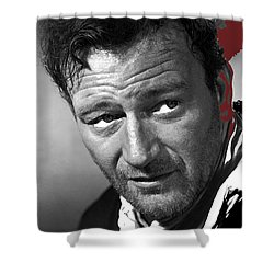 John Wayne 3 Godfathers Publicity Photo 1948-2009 Shower Curtain by David Lee Guss