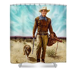 John Wayne Hondo Shower Curtain