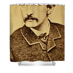 John Wilkes Booth Shower Curtain by Anonymous