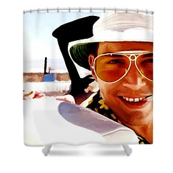 Johnny Depp @ Fear And Loathing In Las Vegas Shower Curtain