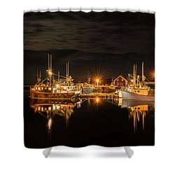 John's Cove Reflections Shower Curtain