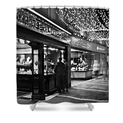 Shower Curtain featuring the photograph Johnson's Court / Dublin by Barry O Carroll