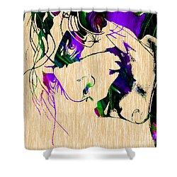 Joker Collection Shower Curtain