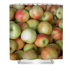 Jonagold Apples Shower Curtain