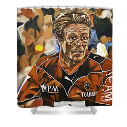 Jonny Wilkinson Shower Curtain