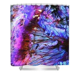 Jordan Shower Curtain by Art Gallery Earth