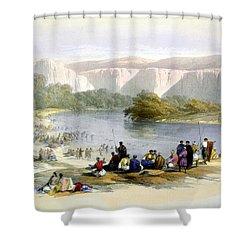 Jordan River Shower Curtain