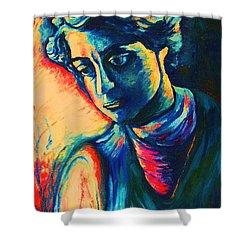 Joseph The Dreamer Shower Curtain by Carole Spandau